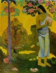 te avae no maria by paul gauguin painting