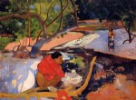 te poipoi by paul gauguin painting