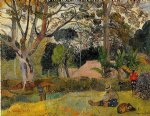 te raau rahi by paul gauguin painting