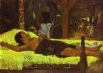 te tamari no atua by paul gauguin painting