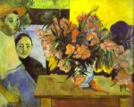 te tiare farani by paul gauguin painting