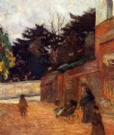 the artist s children impasse malherne by paul gauguin painting