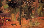 the bathers by paul gauguin painting