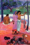 the call by paul gauguin painting