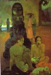 the great buddah by paul gauguin painting