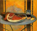 the ham by paul gauguin painting