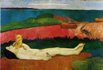 the loss of virginity by paul gauguin painting
