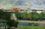 the market gardens of vaugirard by paul gauguin painting