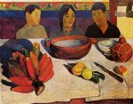 paul gauguin the meal painting