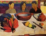 the meal by paul gauguin painting