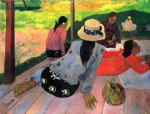 paul gauguin the midday na painting