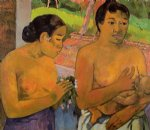 the offering by paul gauguin painting