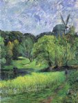 the queen s mill 锟絪tervold by paul gauguin painting