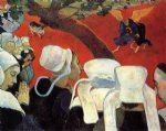 the vision after the sermon by paul gauguin paintings-27546
