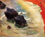 the wave by paul gauguin paintings-27547