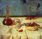 the white tablecloth by paul gauguin paintings-27549