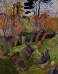the willows by paul gauguin paintings