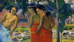 three tahitian women by paul gauguin paintings