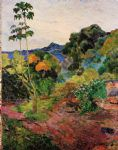 paul gauguin tropical vegetation painting-84500