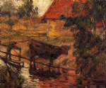 watering place ii by paul gauguin paintings