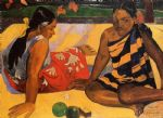 paul gauguin what news painting
