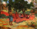 paul gauguin whispered words ii painting