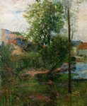 willow by the aven by paul gauguin paintings