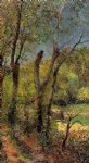 willows by paul gauguin painting