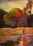 paul gauguin women at the riverside painting