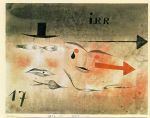 17 astray by paul klee painting