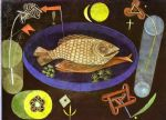 around the fish by paul klee painting