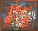 chinese porcelain by paul klee painting