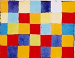 farbtafel by paul klee painting
