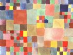 flora on sand by paul klee painting