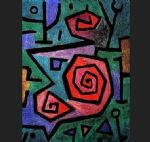 paul klee heroic roses 2 paintings