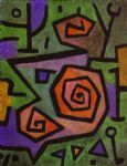 heroic roses by paul klee painting