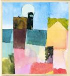 paul klee mondaufgang von st germain painting