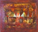nocturnal festivity by paul klee painting