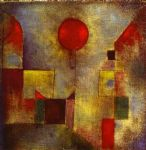 paul klee red ballon paintings