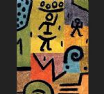zitronen by paul klee painting