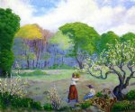 paul ranson picking flowers painting 27116