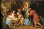 peter paul rubens adoration of the shepherds 2 painting