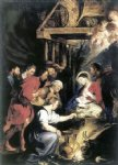 peter paul rubens adoration of the shepherds 3 painting