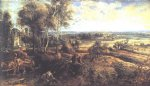 peter paul rubens an autumn landscape with a view of het steen painting 26722