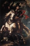 peter paul rubens equestrian portrait of giancarlo doria painting 26780