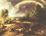 peter paul rubens landscape with a rainbow 2 prints