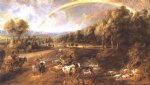 peter paul rubens landscape with a rainbow 3 prints