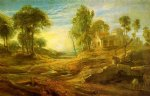 peter paul rubens landscape with a watering place painting 26829