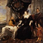 peter paul rubens portrait of lady arundel with her train painting 26896