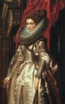 portrait paintings - portrait of marchesa brigida spinola doria by peter paul rubens